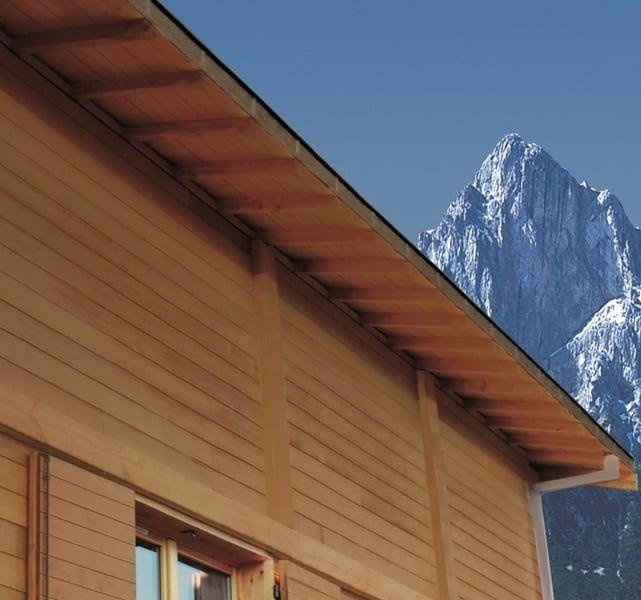 Guida pratica su come verniciare il sottotetto in legno e for Sottotetto in legno