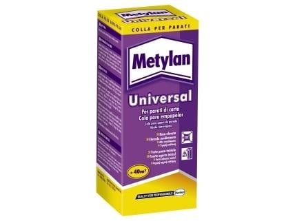 Metylan universal 125g colla per carta da parati leggeri for Colla da parati